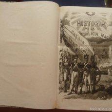 Libros antiguos: ESPAÑA. HISTORIA DE LA MILICIA NACIONAL.JOAQUIN RUIZ DE MORALES. MADRID 1855. LIBRO MUY RARO.. Lote 56325191