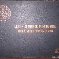 Libros antiguos: ALBUM DE ORO DE PUERTO RICO. DEDICADO A FULGENCIO BATISTA POR LOS AUTORES. AÑO 1939. 32,2 X 48,2 CM.. Lote 56439084