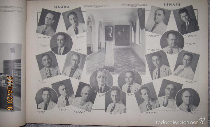 Libros antiguos: ALBUM DE ORO DE PUERTO RICO. DEDICADO A FULGENCIO BATISTA POR LOS AUTORES. AÑO 1939. 32,2 X 48,2 CM. - Foto 7 - 56439084