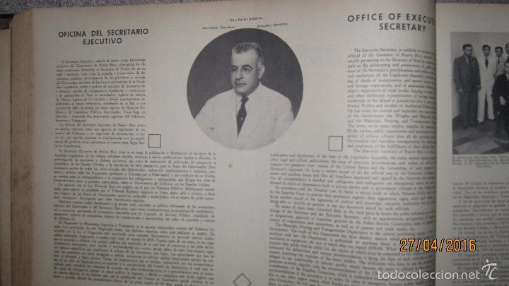 Libros antiguos: ALBUM DE ORO DE PUERTO RICO. DEDICADO A FULGENCIO BATISTA POR LOS AUTORES. AÑO 1939. 32,2 X 48,2 CM. - Foto 10 - 56439084