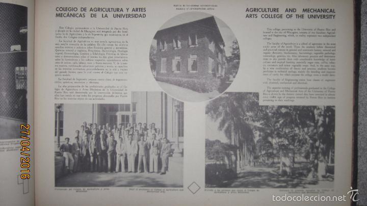 Libros antiguos: ALBUM DE ORO DE PUERTO RICO. DEDICADO A FULGENCIO BATISTA POR LOS AUTORES. AÑO 1939. 32,2 X 48,2 CM. - Foto 11 - 56439084