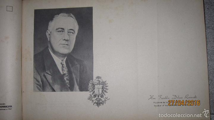 Libros antiguos: ALBUM DE ORO DE PUERTO RICO. DEDICADO A FULGENCIO BATISTA POR LOS AUTORES. AÑO 1939. 32,2 X 48,2 CM. - Foto 12 - 56439084