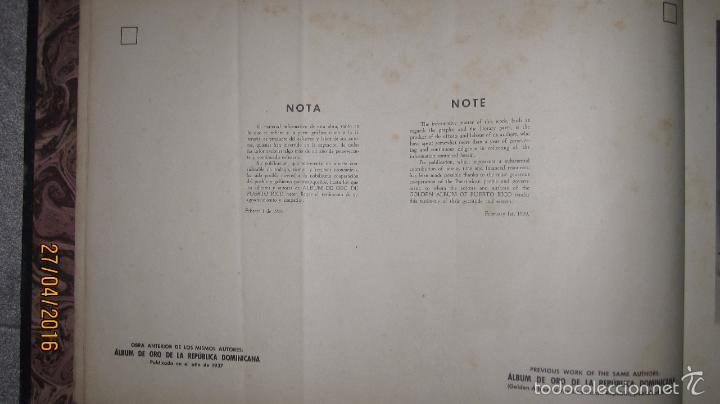 Libros antiguos: ALBUM DE ORO DE PUERTO RICO. DEDICADO A FULGENCIO BATISTA POR LOS AUTORES. AÑO 1939. 32,2 X 48,2 CM. - Foto 13 - 56439084
