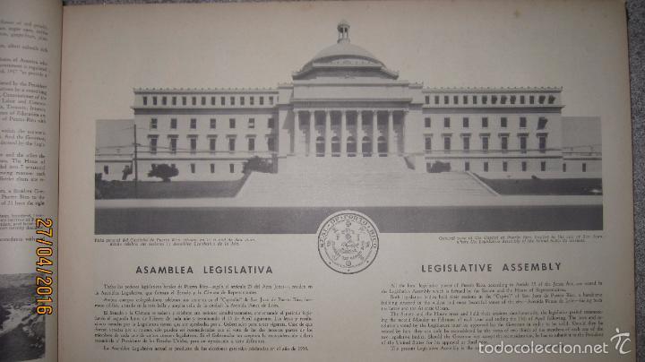 Libros antiguos: ALBUM DE ORO DE PUERTO RICO. DEDICADO A FULGENCIO BATISTA POR LOS AUTORES. AÑO 1939. 32,2 X 48,2 CM. - Foto 15 - 56439084