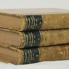 Libros antiguos: 4027- LAS CALLES DE BARCELONA EN 1865. 3 TOMOS(VER DESCRIP). VÍCTOR BALAGUER. IMP. TELLO. 1888.. Lote 56564315