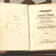 Libros antiguos: 7489 - COMPENDIO DE HISTORIA ROMANA. PH. LE BAS. TIP. D. F DE P. MELLADO. 1844.. Lote 56635543
