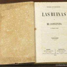 Libros antiguos: 7495 - LIBRERÍAS DE JOSÉ CUESTA. 1 VOLUM. 2 TOMOS(VER DESCRIP). VV. AA. 1858-59. . Lote 56688525