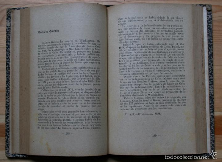 Libros antiguos: ARTICLES - Pi i Margall / Gabriel Alomar --- 1908 - Foto 4 - 34398920