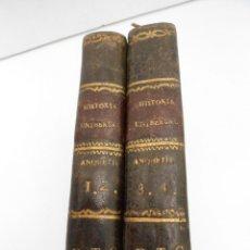Libros antiguos: COMPENDIO DE HISTORIA UNIVERSAL DE ANQUETIL - IMPR. DE LA UNION COMERCIAL - 4 TOMOS COMPLETA - 1844. Lote 56694078