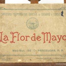 Libros antiguos: 7560 - LA FLOR DE MAYO. S. C. O. DE AHORRO Y CONSUMA. FOTOG. L. ROISIN. 1923.. Lote 57087173