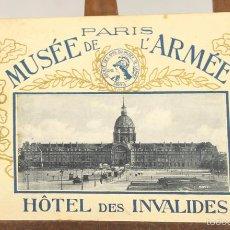 Libros antiguos: 7577 - PARÍS MUSÉE DE L'ARMÉE. C. ALSACIENNE. EDI. SOCIÉTÉ DES AMIS DU MUSÉE DE L'ARMÉE. S/F.. Lote 57105326