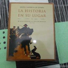 Libros antiguos: NUEVA HISTORIA DE ESPAÑA, LA HISTORIA EN SU LUGAR Nº 9,DE LA RESTAURACION A LA SEGUNDA REPUBLICA. Lote 57322368