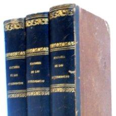 Libros antiguos: MARCELINO MENÉNDEZ PELAYO: HISTORIA DE LOS HETERODOXOS ESPAÑOLES. PRIMERA ED.. MADRID: 1880-81, 3 V.. Lote 57659502