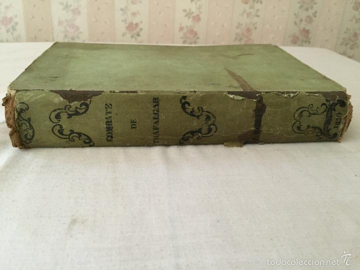 Libros antiguos: COMBATE DE TRAFALGAR, (CON PLANO) MADRID 1850, POR D.MANUEL MARLIANI - Foto 2 - 57727630