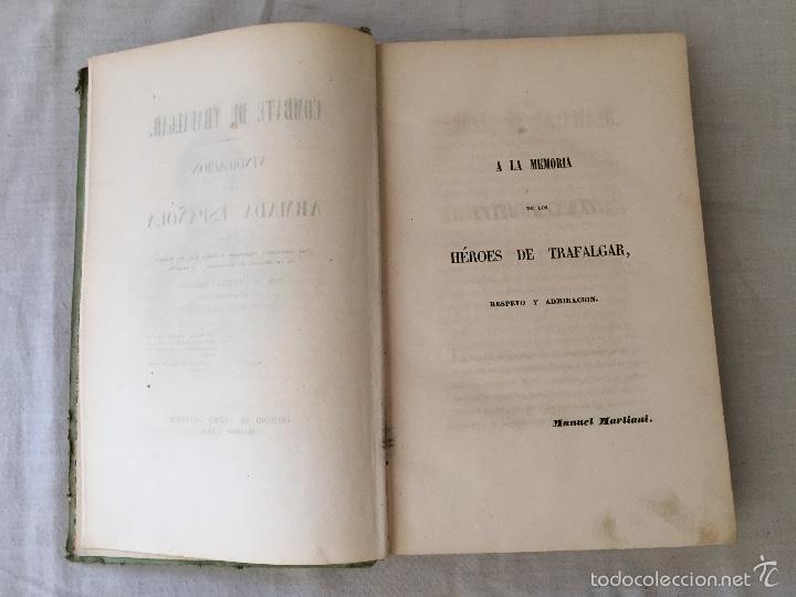 Libros antiguos: COMBATE DE TRAFALGAR, (CON PLANO) MADRID 1850, POR D.MANUEL MARLIANI - Foto 9 - 57727630