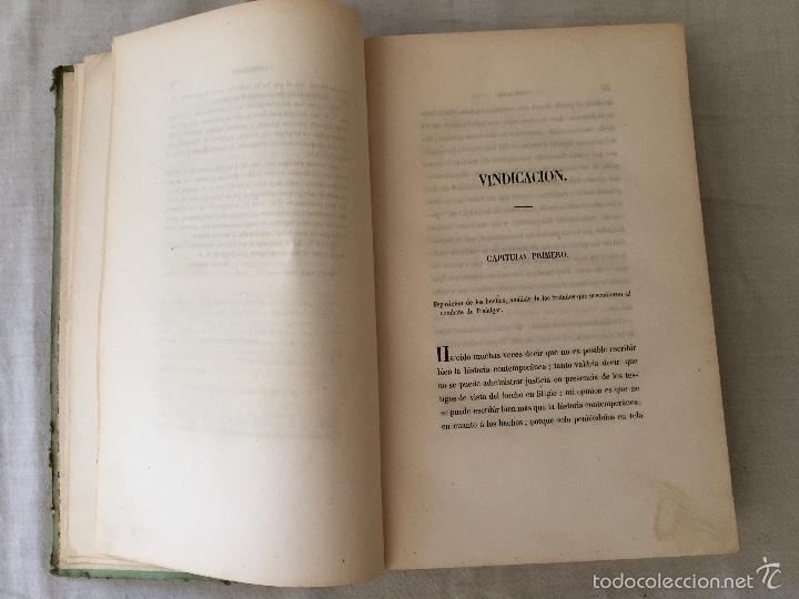 Libros antiguos: COMBATE DE TRAFALGAR, (CON PLANO) MADRID 1850, POR D.MANUEL MARLIANI - Foto 11 - 57727630