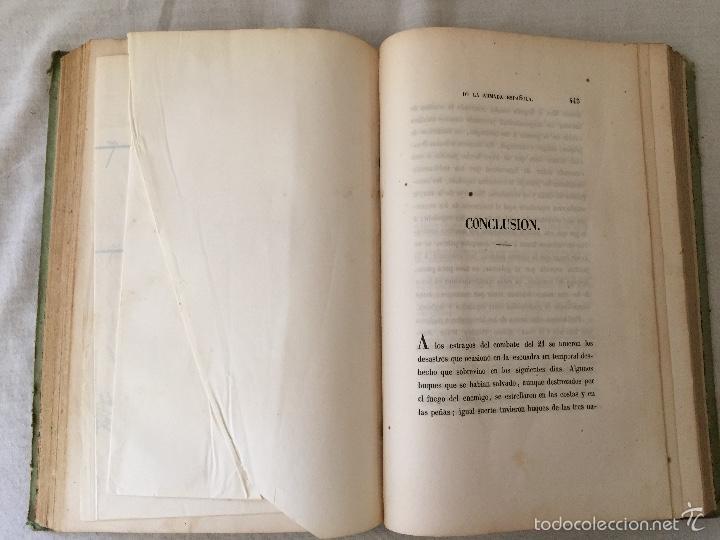 Libros antiguos: COMBATE DE TRAFALGAR, (CON PLANO) MADRID 1850, POR D.MANUEL MARLIANI - Foto 15 - 57727630