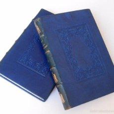 Libros antiguos: 1927 - LES SOEURS DE NAPOLEON - HISTORIA DE FRANCIA - 2 TOMOS ILUSTRADOS - GRABADOS - PLENA PIEL . Lote 58139514