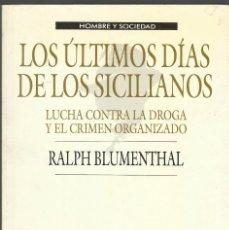 Libros antiguos: LOS ULTIMOS DIAS DE LOS SICILIANOS. Lote 58519580