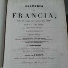 Libros antiguos: EL MUNDO. HISTORIA DE TODOS LOS PUEBLOS. FRANCIA: DESDE FRANCISCO I HASTA 1839. IMPRENTA BRUSI, 1841. Lote 58894526