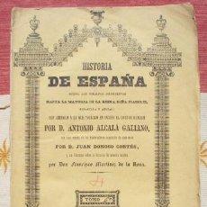 Libros antiguos: ALCALÁ GALIANO : HISTORIA DE ESPAÑA. TOMO IV: LITERATURA, CIENCIAS, ARTES EN LA EDAD MEDIA.. Lote 60822133