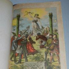 Libros antiguos: (M) CASSARD , ANDRES - MANUAL DE LA MASONERIA EL TEJADOR DE LOS RITOS ANTIGUOS ESCOCES 1871. Lote 61914188