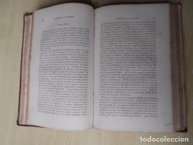Libros antiguos: Facundo; ó Civilización i Barbarie en las Pampas Arjentinas 1868 Sarmiento con retrato. - Foto 7 - 62532392