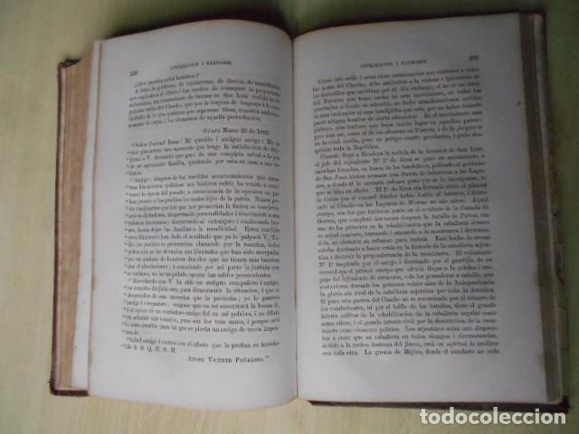 Libros antiguos: Facundo; ó Civilización i Barbarie en las Pampas Arjentinas 1868 Sarmiento con retrato. - Foto 8 - 62532392