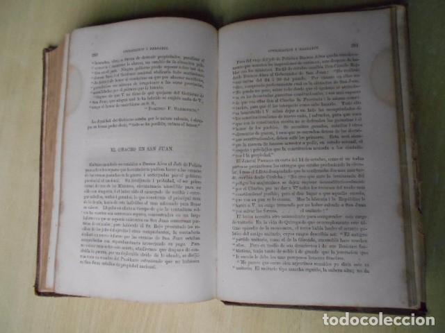 Libros antiguos: Facundo; ó Civilización i Barbarie en las Pampas Arjentinas 1868 Sarmiento con retrato. - Foto 9 - 62532392