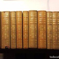 Libros antiguos: HISTORIA DE ESPAÑA Y SU INFLUENCIA EN LA HISTORIA UNIVERSAL. 10 VOL. 1929-1936 ANTONIO BALLESTEROS. Lote 67474749