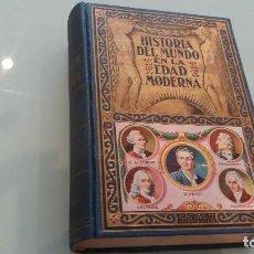 Libros antiguos: HISTORIA DEL MUNDO EN LA EDAD MODERNA . EL SIGLO XVIII. ED. SOPENA. 1940. Lote 67512077