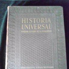 Libros antiguos: TOMO CUARTO EDAD MODERNA HISTORIA UNIVERSAL DE GALLACH 1933. Lote 67544165