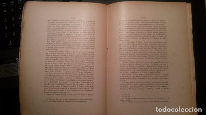 Libros antiguos: Contribució a la Historia antiga de Catalunya. por Joseph Soler y Palet. Barcelona 1906 - Foto 2 - 67781013