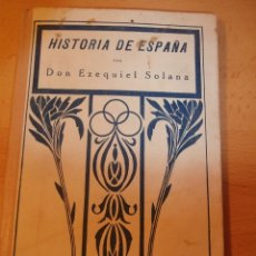 Libros antiguos: LIBRO HISTORIA DE ESPAÑA, 1928. Lote 68156825