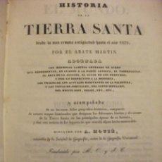 Libros antiguos: HISTORIA DE LA TIERRA SANTA O PALESTINA - EL MUNDO HISTORIA DE TODOS LOS PUEBLOS 1840. Lote 68770673
