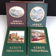 Libros antiguos: 8283 - ÁLBUM MERAVELLA. IV VOLUM(VER DESCRIP). VV. AA. EDI. L. CATALONIA. 1929/1933.. Lote 72229067