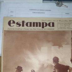 Libros antiguos: REVISTA ESTAMPA 16 DICIEMBRE 1933. Lote 72451497