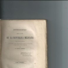Libros antiguos: 1847 - LUCAS ALAMAN - HISTORIA REPUBLICA MEJICANA - MEXICO - AMERICA. Lote 73020211