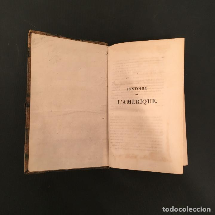 Libros antiguos: 1828 ENCUADERNACION ORIGINAL - MEXICO William ROBERTSON - Historie de l'Amérique - Historia America - Foto 8 - 74387623