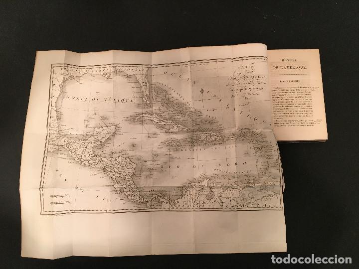 Libros antiguos: 1828 ENCUADERNACION ORIGINAL - MEXICO William ROBERTSON - Historie de l'Amérique - Historia America - Foto 10 - 74387623