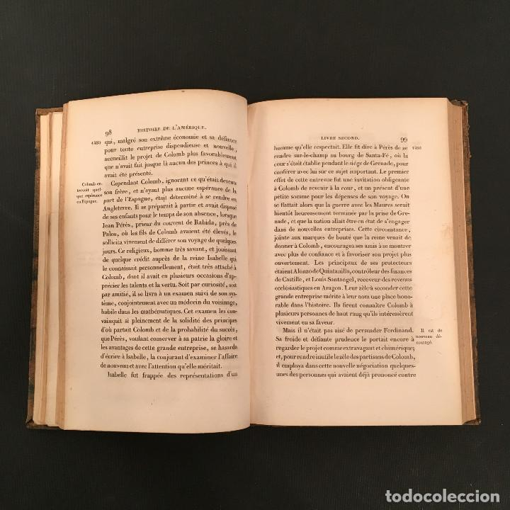 Libros antiguos: 1828 ENCUADERNACION ORIGINAL - MEXICO William ROBERTSON - Historie de l'Amérique - Historia America - Foto 15 - 74387623