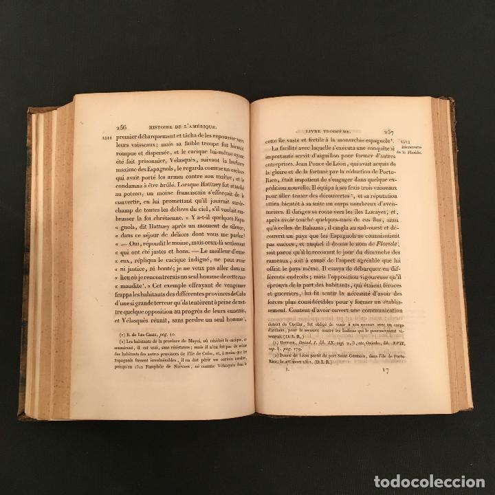 Libros antiguos: 1828 ENCUADERNACION ORIGINAL - MEXICO William ROBERTSON - Historie de l'Amérique - Historia America - Foto 16 - 74387623