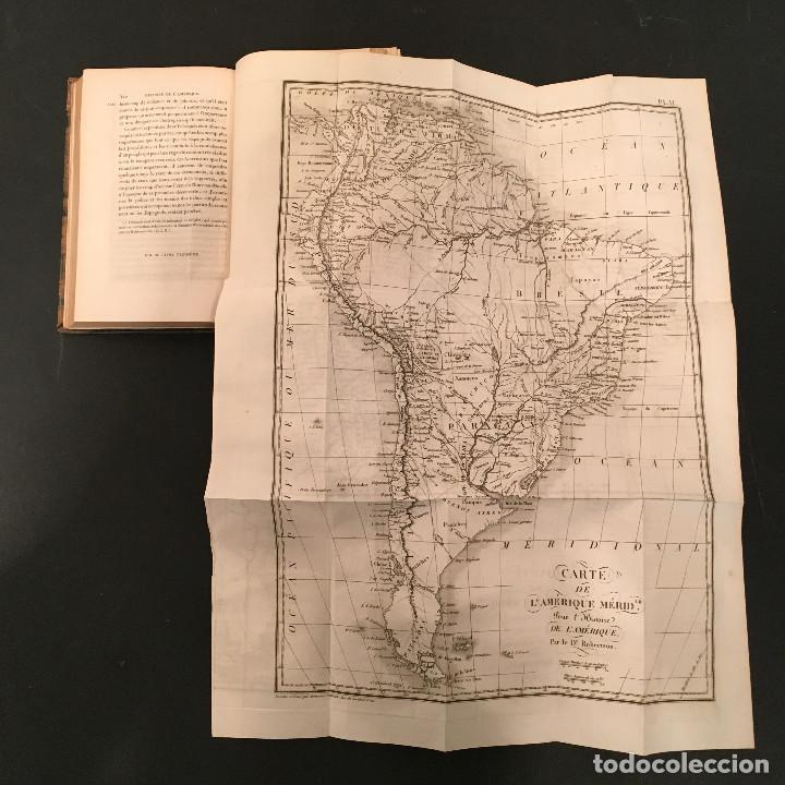 Libros antiguos: 1828 ENCUADERNACION ORIGINAL - MEXICO William ROBERTSON - Historie de l'Amérique - Historia America - Foto 17 - 74387623