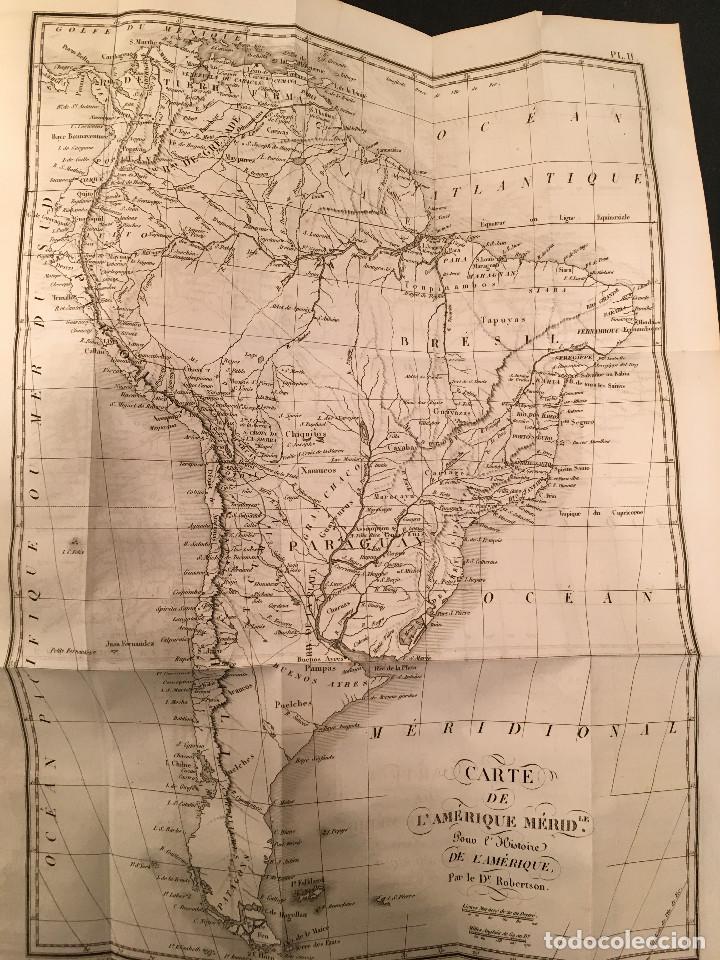 Libros antiguos: 1828 ENCUADERNACION ORIGINAL - MEXICO William ROBERTSON - Historie de l'Amérique - Historia America - Foto 20 - 74387623