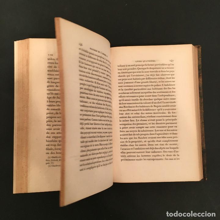 Libros antiguos: 1828 ENCUADERNACION ORIGINAL - MEXICO William ROBERTSON - Historie de l'Amérique - Historia America - Foto 26 - 74387623
