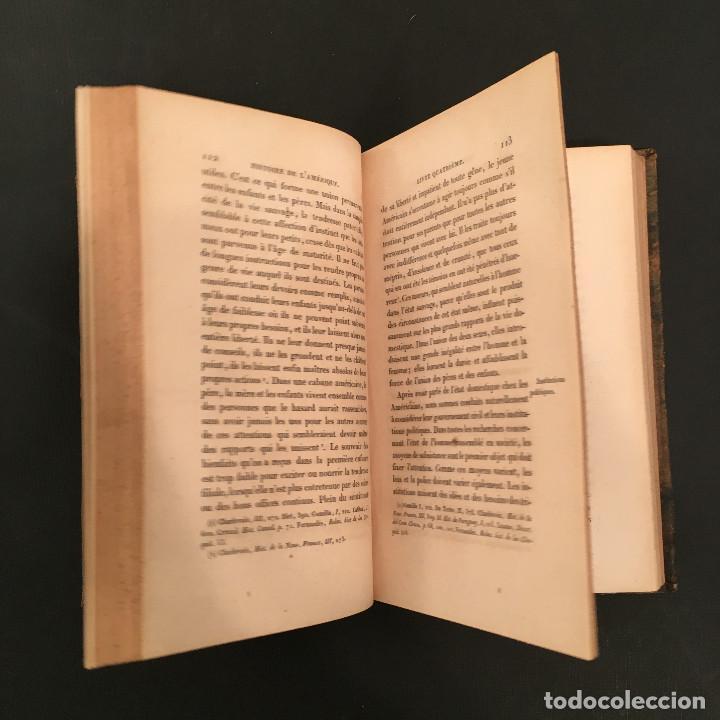 Libros antiguos: 1828 ENCUADERNACION ORIGINAL - MEXICO William ROBERTSON - Historie de l'Amérique - Historia America - Foto 27 - 74387623