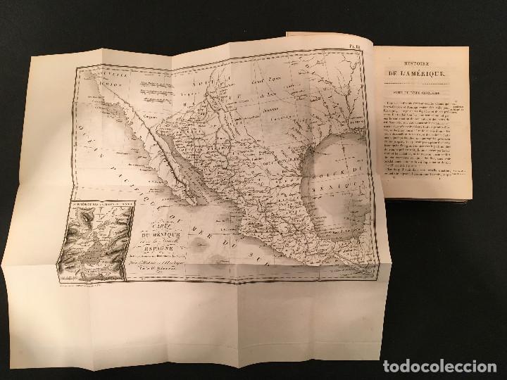 Libros antiguos: 1828 ENCUADERNACION ORIGINAL - MEXICO William ROBERTSON - Historie de l'Amérique - Historia America - Foto 33 - 74387623