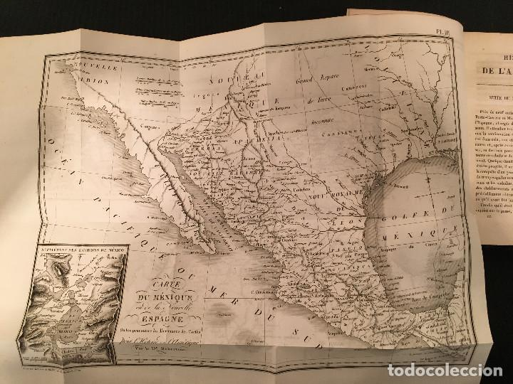 Libros antiguos: 1828 ENCUADERNACION ORIGINAL - MEXICO William ROBERTSON - Historie de l'Amérique - Historia America - Foto 34 - 74387623