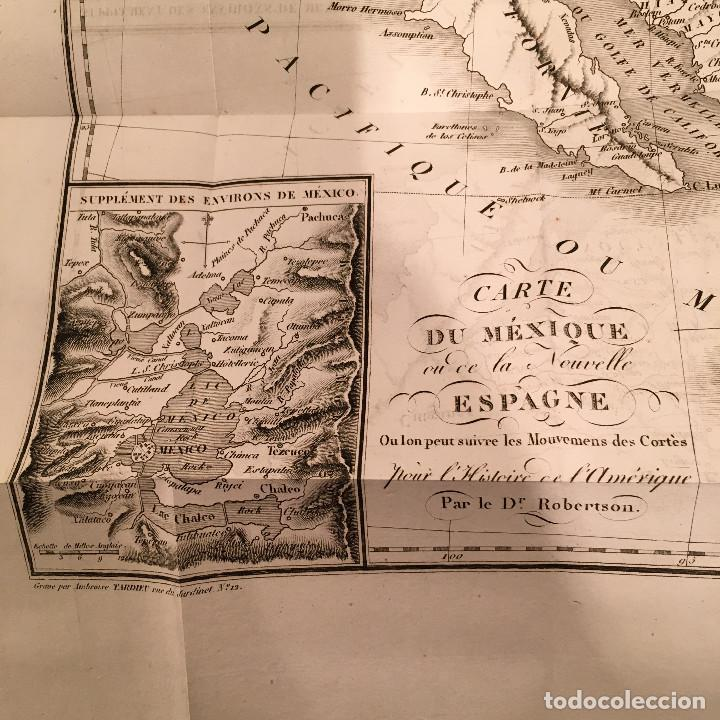 Libros antiguos: 1828 ENCUADERNACION ORIGINAL - MEXICO William ROBERTSON - Historie de l'Amérique - Historia America - Foto 35 - 74387623
