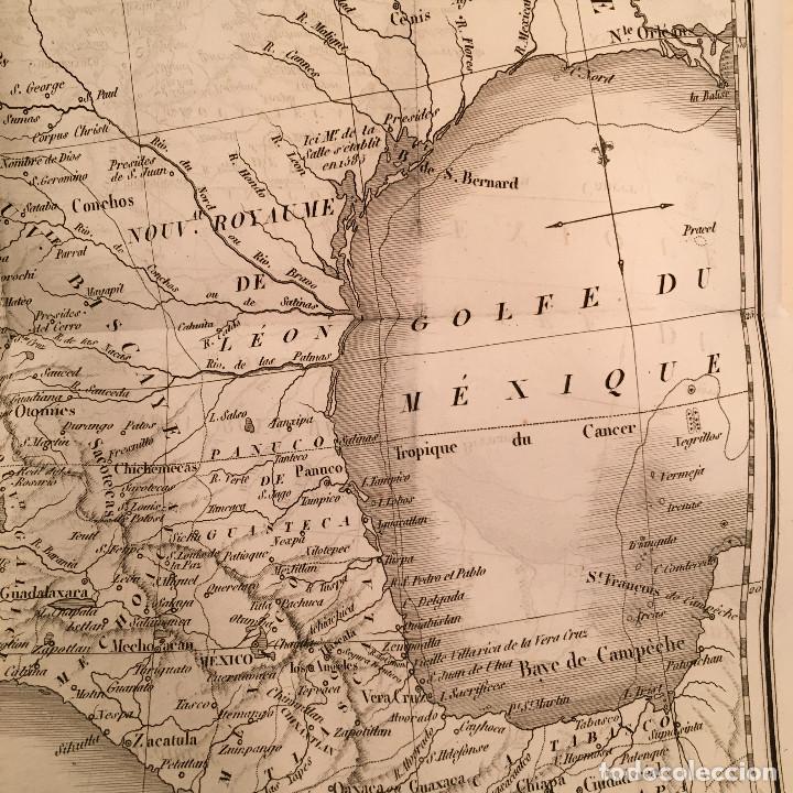 Libros antiguos: 1828 ENCUADERNACION ORIGINAL - MEXICO William ROBERTSON - Historie de l'Amérique - Historia America - Foto 37 - 74387623